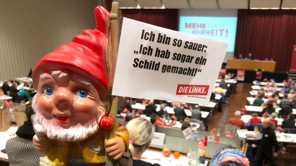 Parteitag In Gießen Linke Stellt Sich Neu Auf Hessenschaude