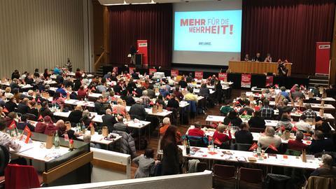 Linken-Parteitag in Gießen