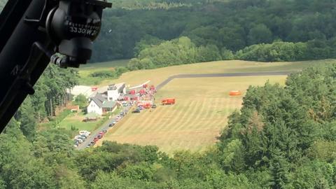 Blick aus Helikopter