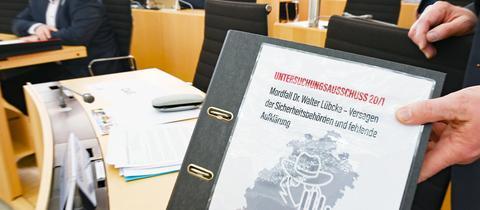 Lübcke-Auschuss Akten