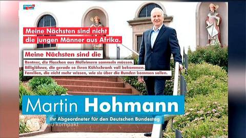 Martin Hohmann (AfD) Wahlplakat - Meine Nächsten - Video Startbild