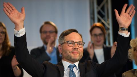 Michael Roth (SPD), Staatsminister im Auswärtigen Amt, ist wieder SPD-Spitzenkandidat für die Landesliste.