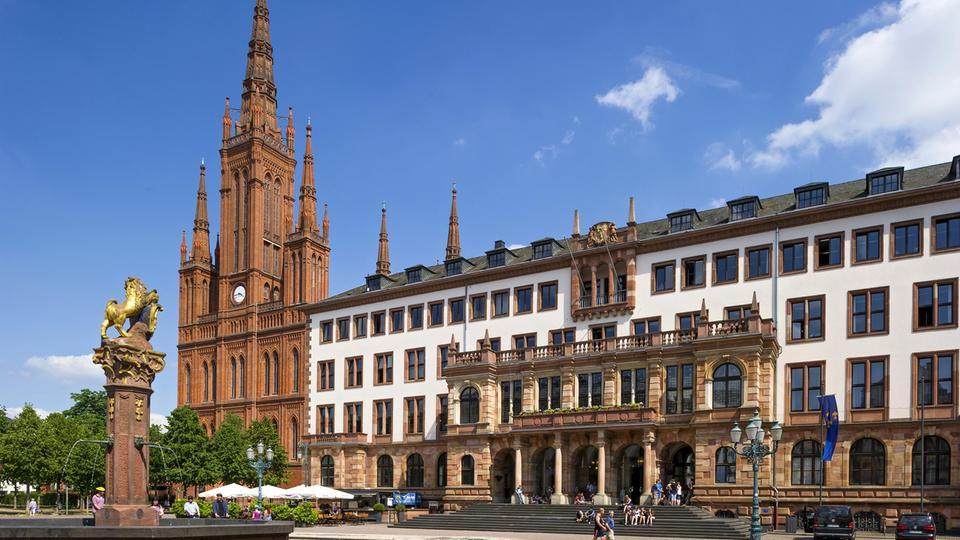 Neues Rathaus Wiesbaden