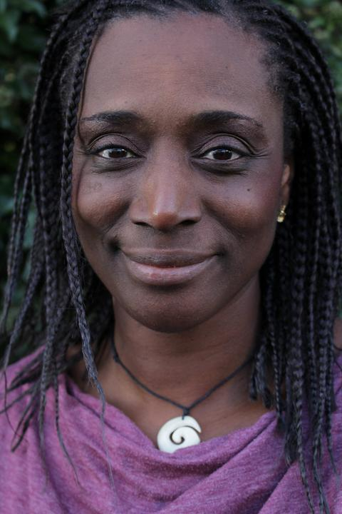 Die Soziologin und Buchautorin Nkechi Madubuko