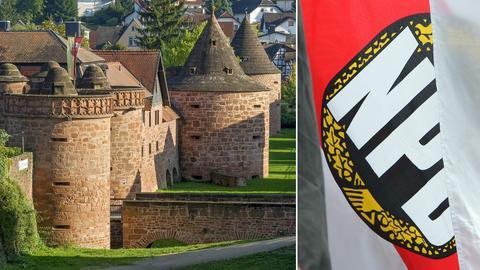 NPD Bundesparteitag in Büdingen