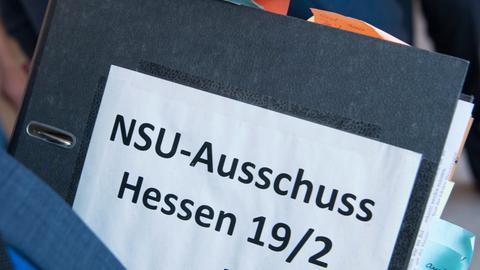 Ordner zum NSU Ausschuss