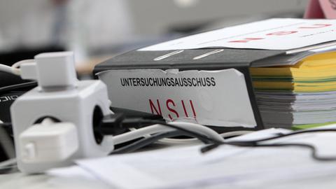 Akten aus dem NSU-Prozess