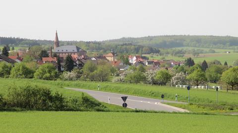 19 Stadtteile - eine neue Stadt: Oberzent im Odenwald: der Fläche nach ist der Ort der drittgrößte in Hessen