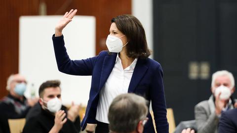Beim CDU-Parteitag in Hanau wurde die Bundestagsabgeordnete Katja Leikert zur neuen Vorsitzenden gewählt.