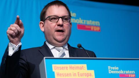 Stefan Ruppert auf dem FDP-Landesparteitag