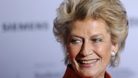 die ehemalige Oberbürgermeisterin von Frankfurt, Petra Roth (CDU)