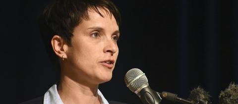 AfD-Bundessprecherin Frauke Petry