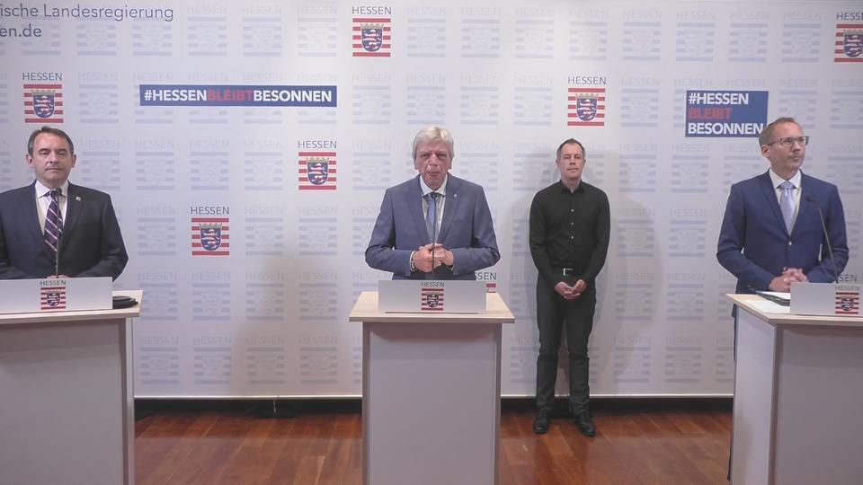 Pressekonferenz Hessen