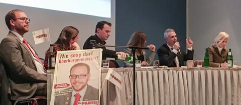 Podium Ob-Wahl Frankfurt