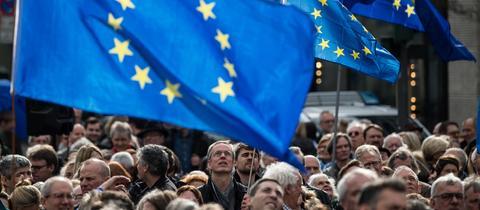 Pulse of Europe Demo Frankfurt März