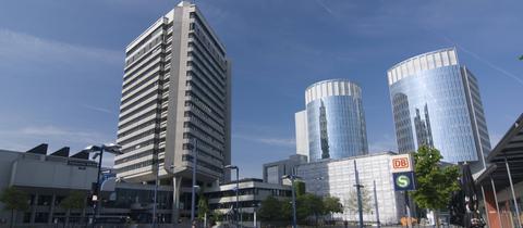Das Rathaus von Offenbach