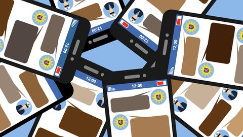 Symbolbild Rechte Polizeichats