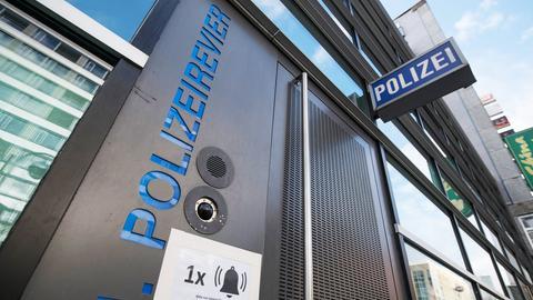 Das erste Polizeirevier in Frankfurt