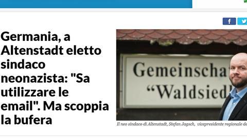 Repubblica-Bericht über die Wahl in Waldsiedlung