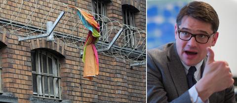 Selbstverwaltetes Zentrum Klapperfeld, Wissenschaftsminister Boris Rhein