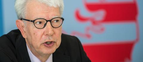 Der hessische Datenschutzbeauftragte des Landes, Michael Ronellenfitsch