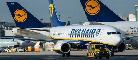 Lufthansa protestiert gegen Rabatte für Ryanair am Frankfurter Flughafen