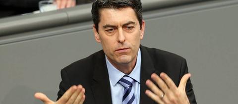 Der SPD-Bundestagsabgeordnete Sascha Raabe