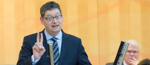 Thorsten Schäfer-Gümbel im Landtag.