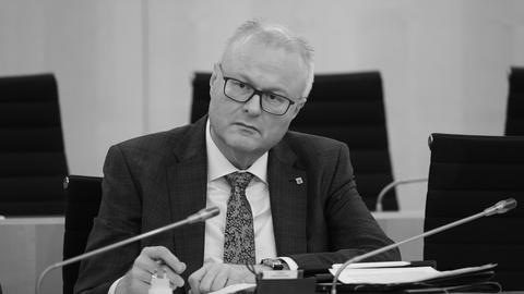 Finanzminister Thomas Schäfer (CDU). Er wurde 54 Jahre alt.