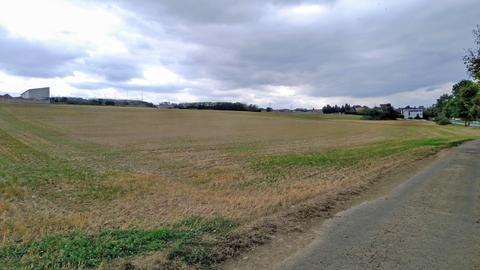 Unbebautes Gewerbegebiet der Stadt Runkel
