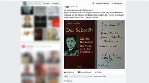 Widmung Facebook Steinau