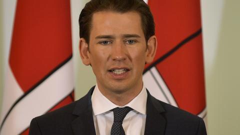 Österreichs Bundeskanzler Sebastian Kurz