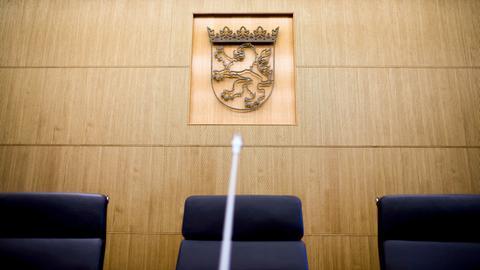 Hessischer Staatsgerichtshof Sitzungssaal