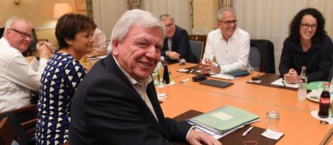 CDU und Grüne trafen sich zu einer zweiten Sondierungsrunde