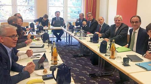 Sondierungsrunde CDU und Grüne in Geisenheim