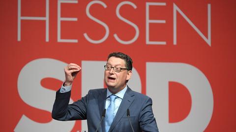 SPD-Parteitag in Wiesbaden