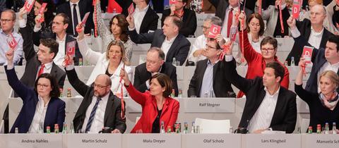 SPD Abstimmung Groko