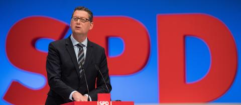 SPD Parteitag Thorsten Schäfer-Gümbel