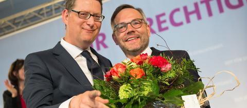 Michael Roth und Thorsten Schäfer-Gümbel