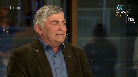 Martin Häusling (Grüne) bei der TV-Debatte zur Europawahl