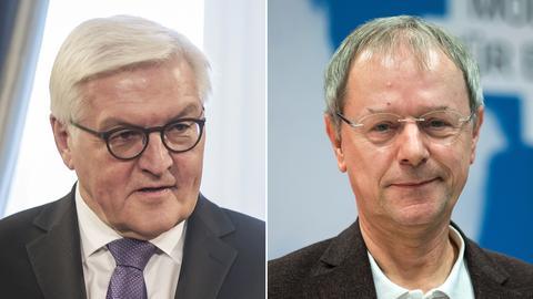 Wollen Bundespräsident werden: Frank-Walter Steinmeier (l.), Christoph Butterwegge