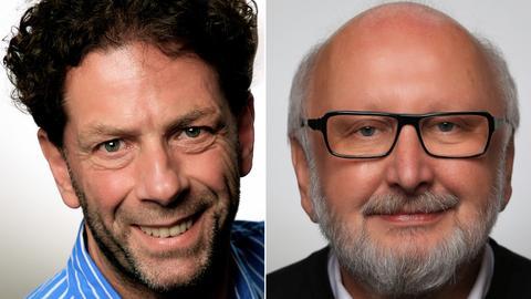 Die beiden Kandidaten in der Stichwahl in Lorch um das Amt des Bürgermeisters