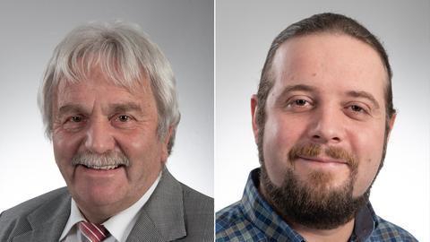 Die Kandidaten in der Stichwahl um das Bürgermeisteramt in Runkel