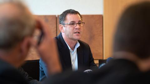 Der Wiesbadener Ex-Oberbürgermeister Sven Gerich im Januar 2019.