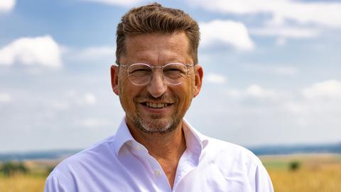 Landratskandidat Thomas Riedel, FDP