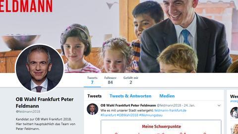 Twitterprofil Peter Feldmann