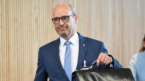 Landespolizeipräsident Roland Ullmann