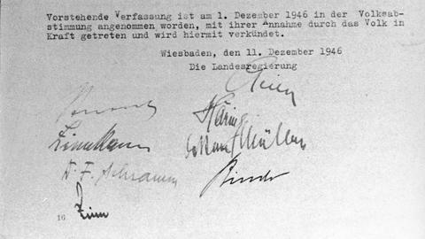 Hessen Verfassung 1946