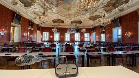 Blick in den Fürstensaal in Fulda