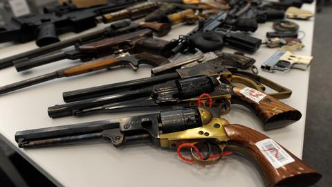 Waffenamnestie 2017 abgegebene Schusswaffen